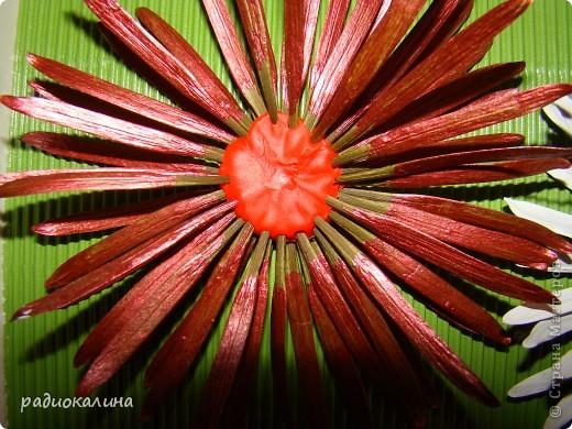 По просьбам мастериц рассказываю как мы с ребятками делали стрекозу и цветы. Сначала про стрекозку. фото 12