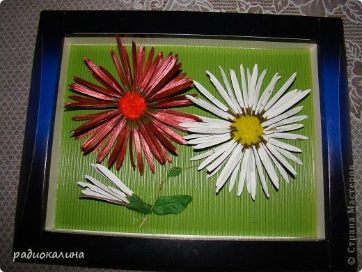 По просьбам мастериц рассказываю как мы с ребятками делали стрекозу и цветы. Сначала про стрекозку. фото 13