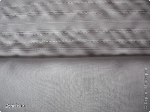 Вообще я не умею шить, если только что-то прострочить. но как получилось это платье, сама удивляюсь. Нам понадобится: ткань для топа - сорочечная (похожа на стрейч) ткань для юбки - сорочечная (хлопок), органза (у меня были обрезки от штор), косая бейка резинка шляпная, тонкая фото 4