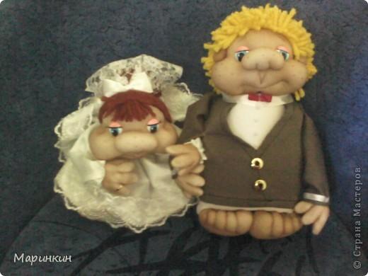 Заказали вчера Жениха с Невестой а, свадьба сегодня...и как говорится на скорую руку что смогла сделала. Главное что заказчик остался довольным.  фото 2