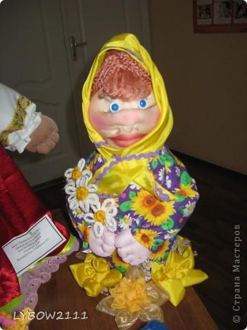 """выставочные куклы """"Русские бабки"""" фото 2"""