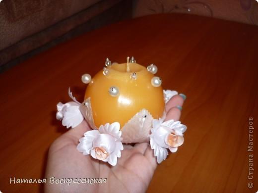 моя готовая свеча!!!а вот как она делалась!... фото 8