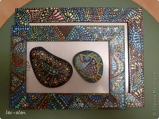 Спасибо Олечке- Олисандре за вдохновение http://stranamasterov.ru/node/215628?c=favorite . Очень уж мне ее работы понравились, не смогла не поповторюшничать. Видимо вчера вечером мы с ней одновременно вспомнили о рамочках и стали разрисовывать. Рамки деревянные Икеевские 10х15 и 13х18.  фото 1