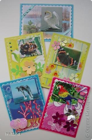 """Вот такие оригинальные карточки я получила по АТС-игре http://stranamasterov.ru/node/211670. Нашей группой была выбрана тема """"Чудеса природы"""". фото 6"""