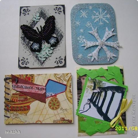 """Вот такие оригинальные карточки я получила по АТС-игре http://stranamasterov.ru/node/211670. Нашей группой была выбрана тема """"Чудеса природы"""". фото 1"""