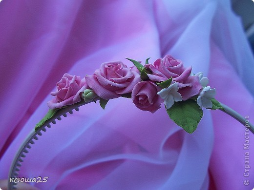 Ободок и заколочки для любого праздника))) фото 5