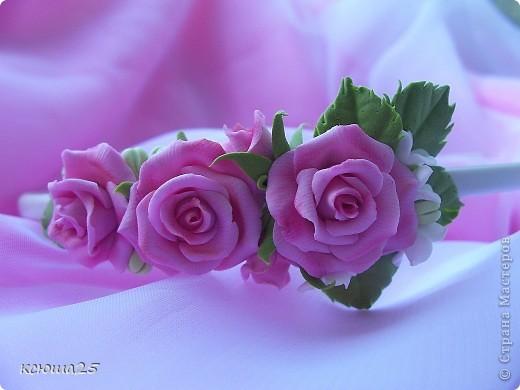 Ободок и заколочки для любого праздника))) фото 6