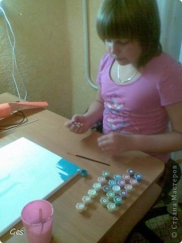 Моя дочь Лиза увлеклась раскрашиванием по номерам. фото 1