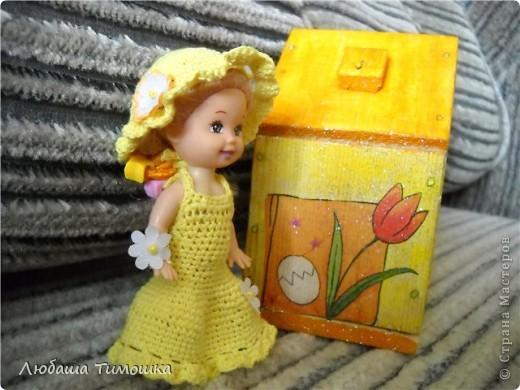 Куколка в садик и облагороженый домик фото 3
