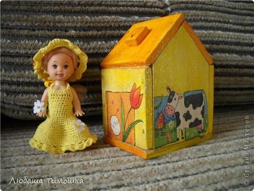 Куколка в садик и облагороженый домик фото 2