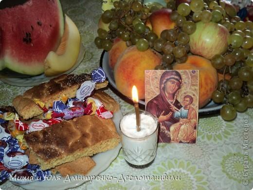 Наш Ангел трубит о сегодняшнем светлом празднике, накануне которого он и родился! С Яблочным Спасом!  фото 4