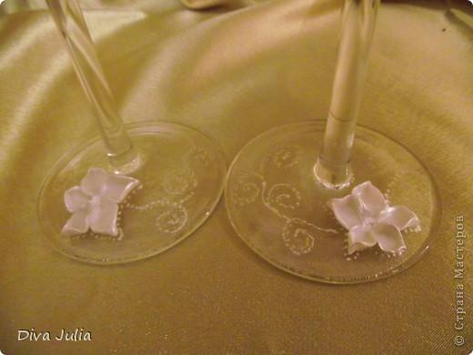 Свадебный набор. Пожелание невесты, чтобы ленточка была бирюзовая под пригласительные, и много-много белого цвета. Еще будет свадебная рамочка, выложу позже фото 16