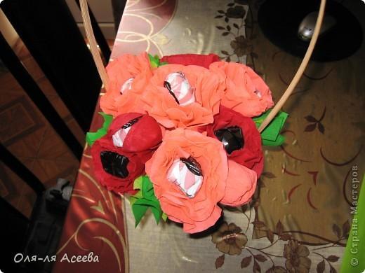 Вот и у меня появился сладкий букетик. Жаль фотография не передает истинного цвета цветочков.  фото 2