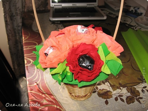 Вот и у меня появился сладкий букетик. Жаль фотография не передает истинного цвета цветочков.  фото 1