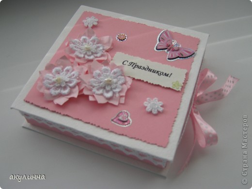 Подарочная коробочка для девочки))) фото 1