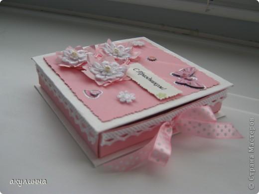 Подарочная коробочка для девочки))) фото 3