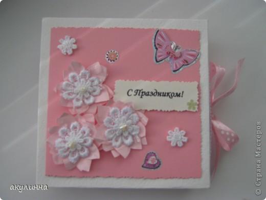 Подарочная коробочка для девочки))) фото 2