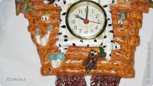 Баба-яга в молодости :))) сделала я эти часики по МК Цеуновой Людмилы, найденном в инете.. фото 3