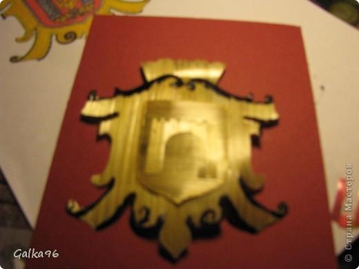 Как то мне надо было сделать доклад о моей роботе с соломкой, вот и получился МК делюсь с Вами, может кому то пригодится, извиняюсь за качество, снималось ночью, при свете настольной лампы(( На картинки изображен герб моего города Черновцы)) Итак начнем: фото 11