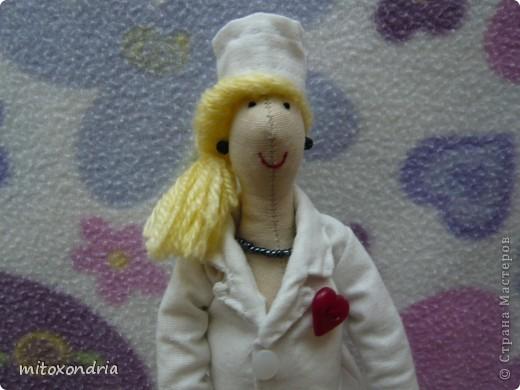 Сшила эту куколку в подарок для одной дамы, к юбилею. фото 3