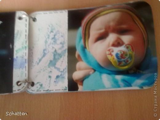 Этот альбомчик сделан по МК вот отсюда: http://www.scrap-info.ru/myarticles/article_storyid_503.html Моя племяшка - девочка-прелестница))) А поскольку мои любимые цвета все-таки (как раз) зеленый и синий, решила не отспупать от МК фото 4
