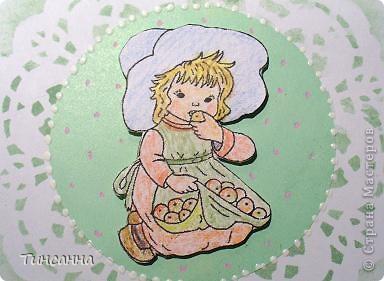 Еще одна открытка, более детская. фото 4