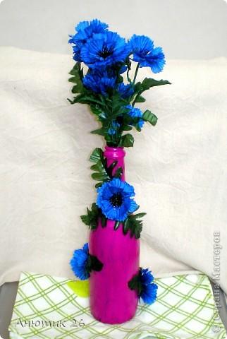 Работа выполнена с сухоцветами фото 1