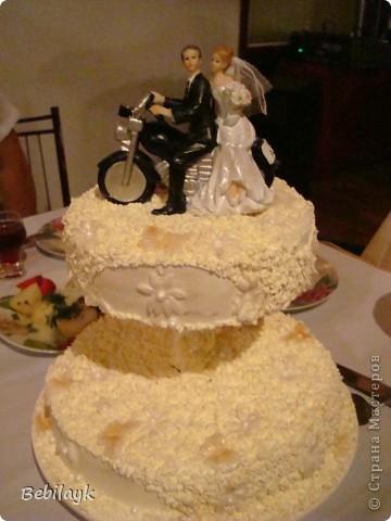 Детям - байкерам и торт байкеровский