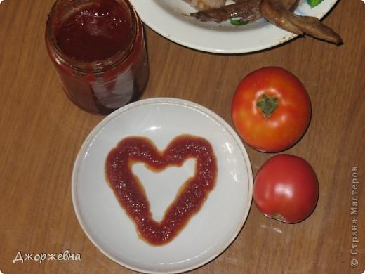 В нашей семье кетчуп на важном месте. А, уж домашний!!! фото 1