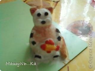 Котёнок из солёного теста!