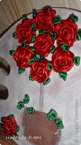 Вот такое Розовое деревце у меня выросло прямо на холодном Гипсе))) фото 1