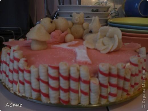 Тортик на 4 месяца фото 4