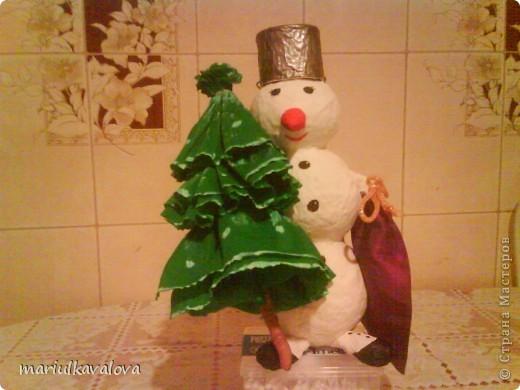 Снеговичок для дочки