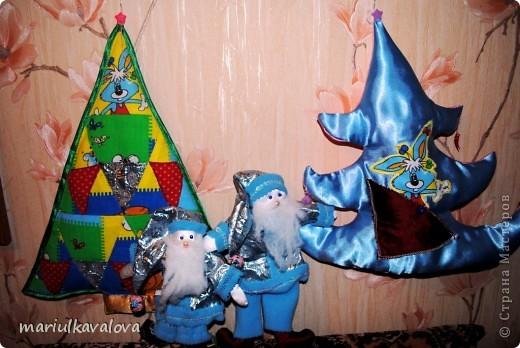 Деды Морозы с елками фото 1