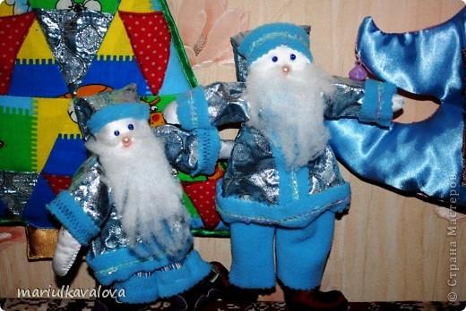 Деды Морозы с елками фото 3