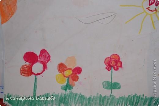 Эту работу, витраж, она делала для садика на конкурс и выиграла.... )))))) фото 12