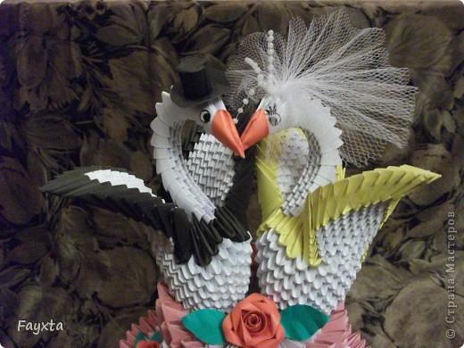 Вот и моя первая работа, спс sveta_psj Такой тортик у себя на свадьбе хочу разыграть в аукционе)) фото 2