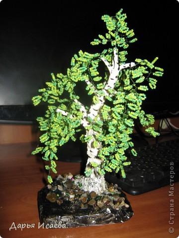 мои бисерные деревья фото 3
