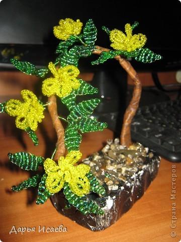 мои бисерные деревья фото 4