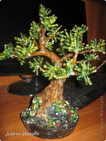 мои бисерные деревья фото 5