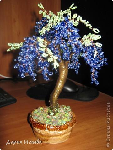 Мои бисерные деревья бисер