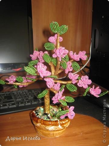 мои бисерные деревья фото 9