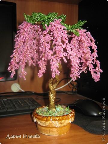 мои бисерные деревья фото 10