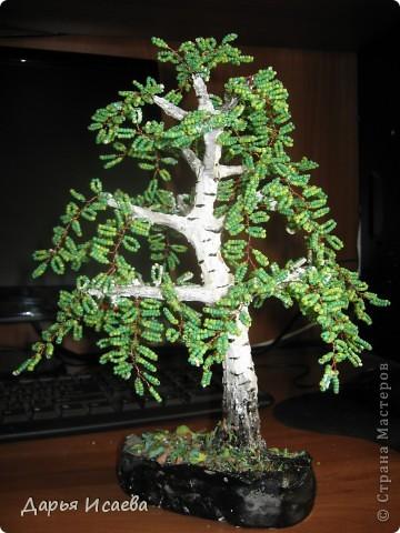 мои бисерные деревья фото 11