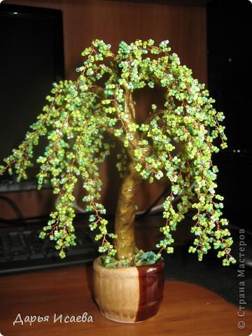 мои бисерные деревья фото 13