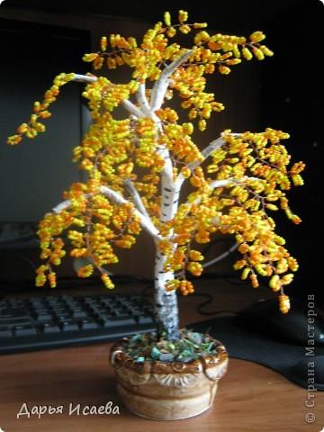 мои бисерные деревья фото 12