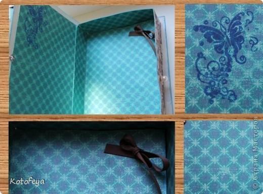 Коробочка для небольшой книги фото 9