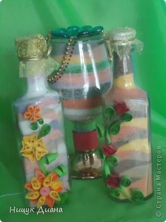 Декоративные бутылки. фото 1