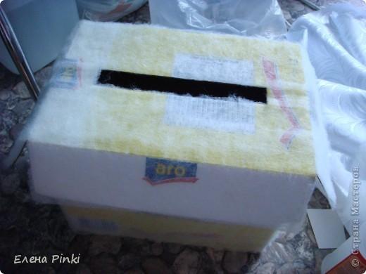 Здравствуйте дорогие мастерицы!!! Вот запечатлила создание коробки для денежных подарков...Делала впервые - методом проб и ошибок!!Буду рада услышать мнение со стороны=) фото 4