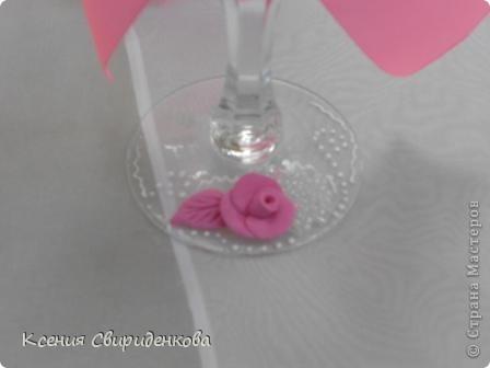 Розовые. Здесь смешивала белый Сонет и розовую Фимо Классик. Смесь получается очень липкая. Лепить сложно и приходится часто мыть руки.  фото 3